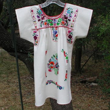 Mexican Peasant Dress