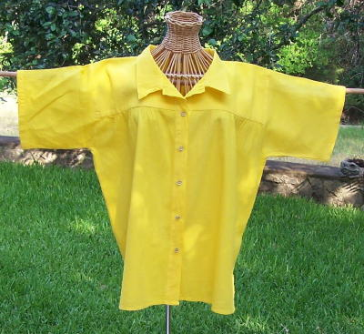 Authentic mexican organic cotton classic button down camp for Organic cotton button down shirts
